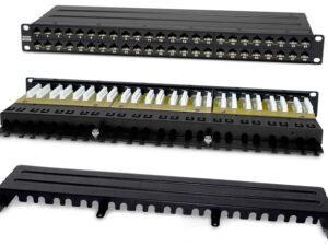 Патч-панели RJ-45 цельные